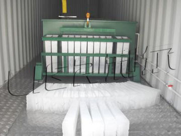 Çin Energy Saving Industrial Ice Block Making Machine Anti Corrosion Distribütör